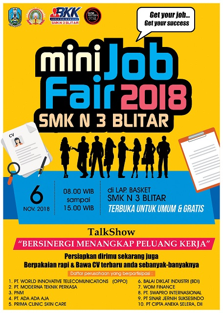 MINI Job Fair SMKN 3 Blitar