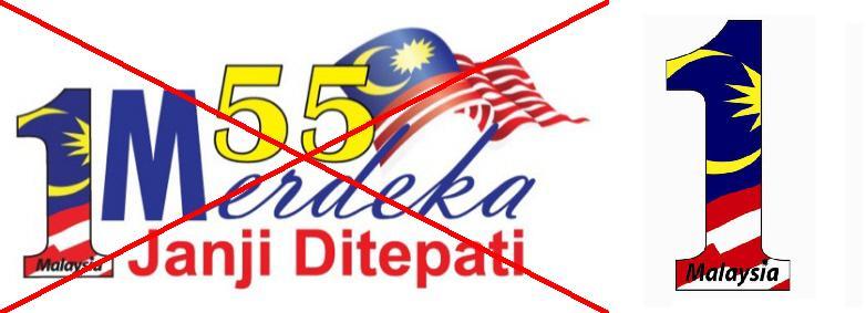 Logo dan Tema Hari Merdeka Malaysia Tahun 1976 Hingga 2012