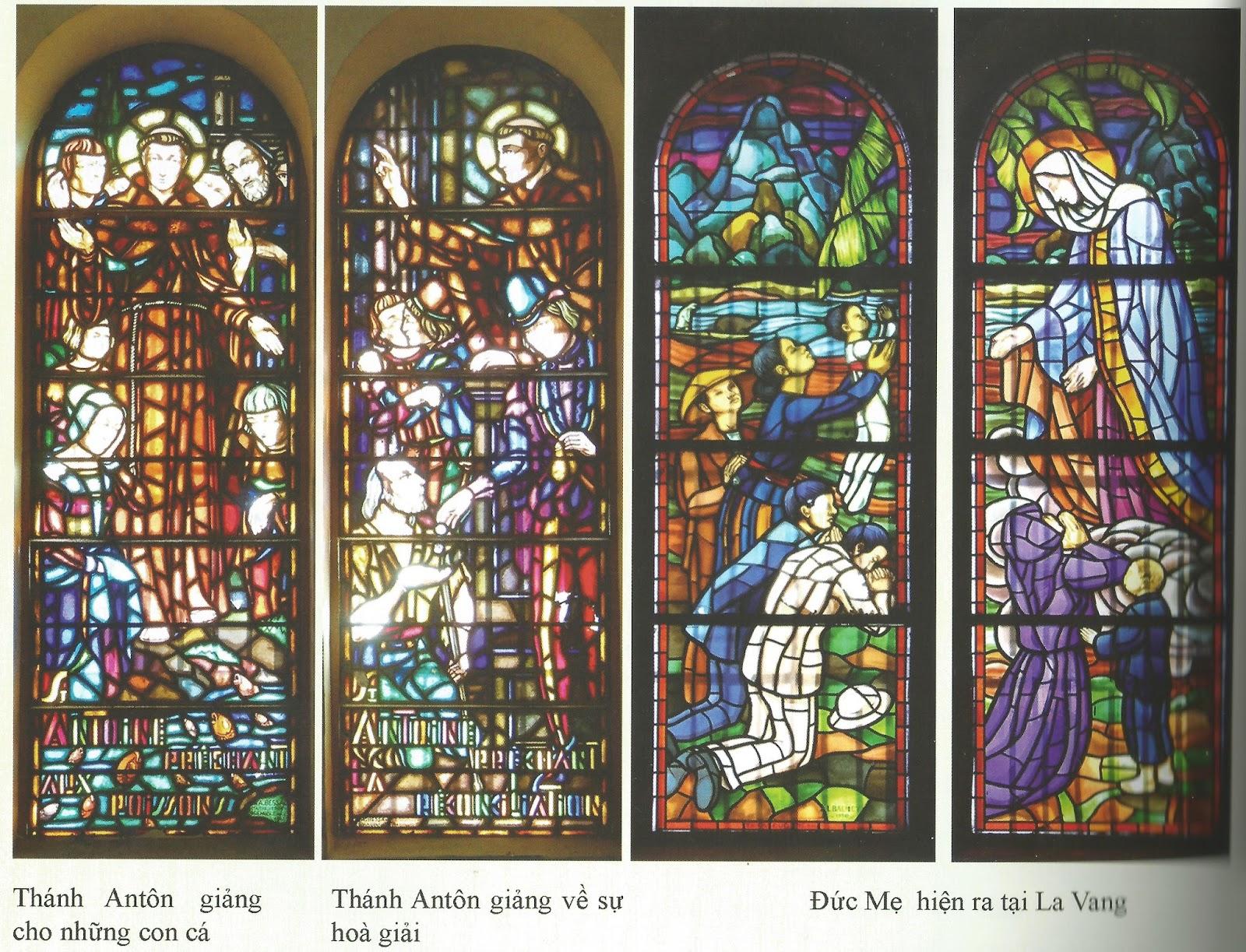 Kính màu trong nhà thờ