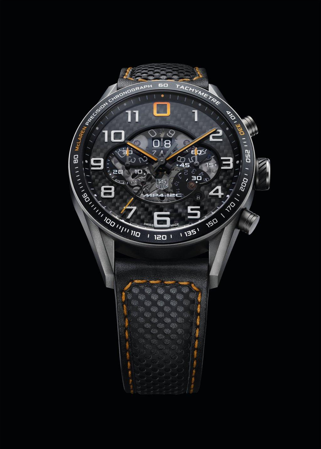 5b6bcdd64ed 10. Tag Heuer Carrera MP4-12C Watch (14 mil dólares)