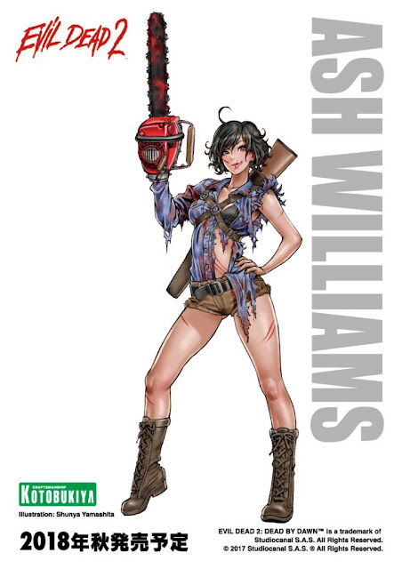 Ash Williams illustration by Shunya Yamashita