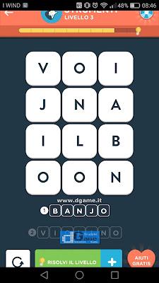 WordBrain 2 soluzioni: Categoria Strumenti (3X4) Livello 3
