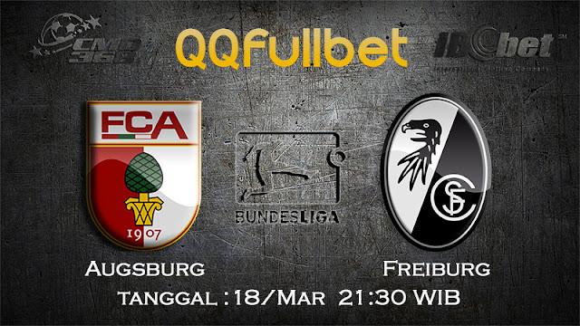 PREDIKSIBOLA - PREDIKSI TARUHAN AUGSBURG VS FREIBURG 18 MARET 2017 (BUNDESLIGA)
