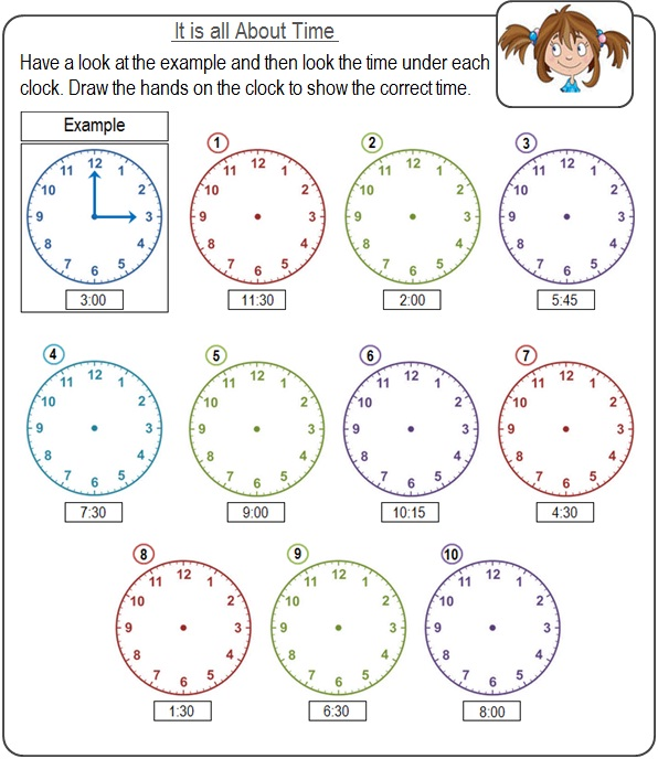 CONCEPT OF 'TIME' AND A CHILD WITH DS