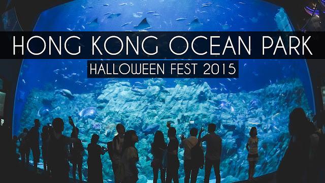 Hong Kong Ocean Park Halloween Fest 2015