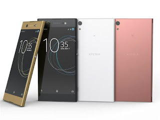 the new android Sony Xperia XA1 mobile