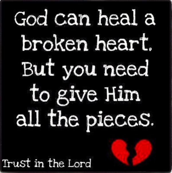 Broken Heart Quotes: Image Quetes 13: Religious Quotes