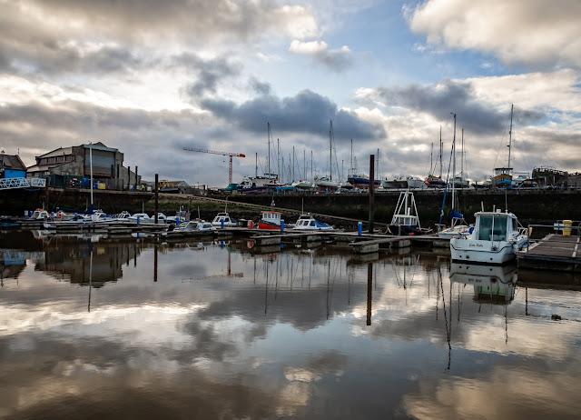 Photo of more reflections at Maryport Marina