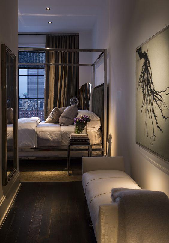 Detalles elegantes para un dormitorio