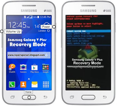 Cara Masuk Recovery Mode Samsung Galaxy V Plus