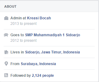 Followers Facebook