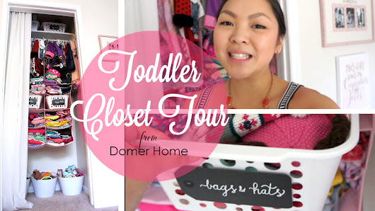 TODDLER CLOSET TOUR