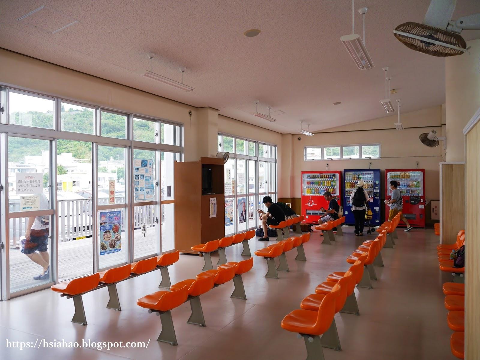 沖繩-渡久地港-水納島-Minna-渡輪-交通-推薦-自由行-旅遊-Okinawa