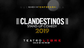 CLANDESTINOS Stand Up Comedy 2019