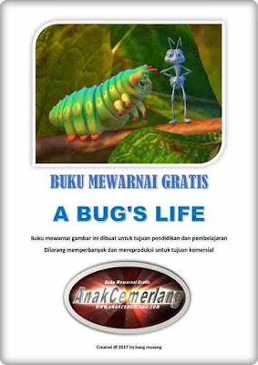 Buku Mewarnai Gratis A Bugs Life Pdf