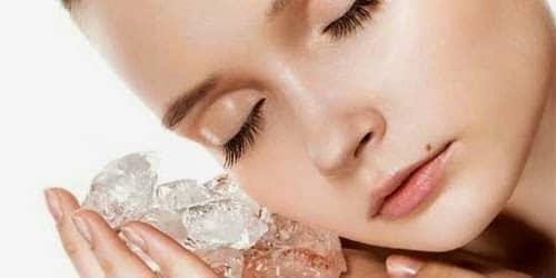 4 Manfaat Rahsia Ais Untuk Cantikkan Wajah