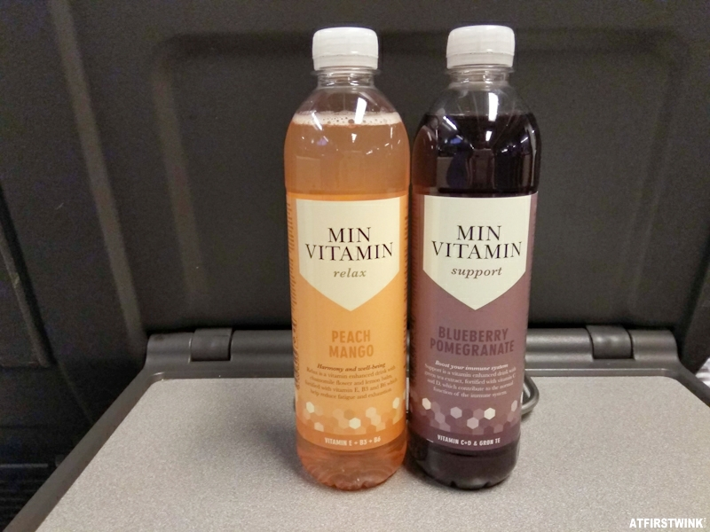 Normal store Min Vitamin waters relax support peach mango blueberry pomegranate