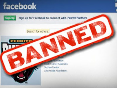 Facebook banned блокиран Фейсбук профил