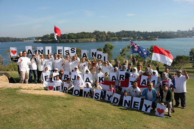 Umat Islam Indonesia di Sydney Siap Dukung Anies-Sandi