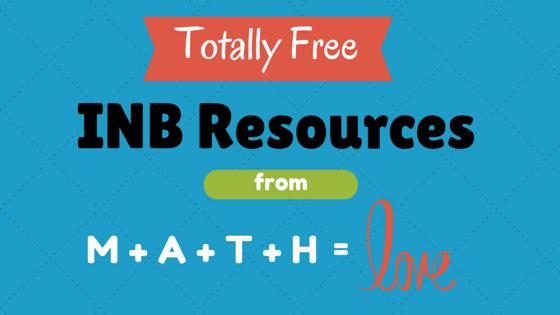 Math = Love: INBs