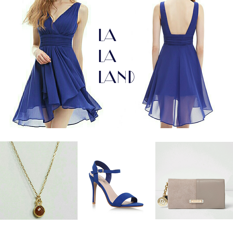 Inspired look from Mia's blue dress from La La Land