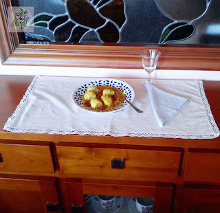 Alcachofas en Salsa con Tomate Seco