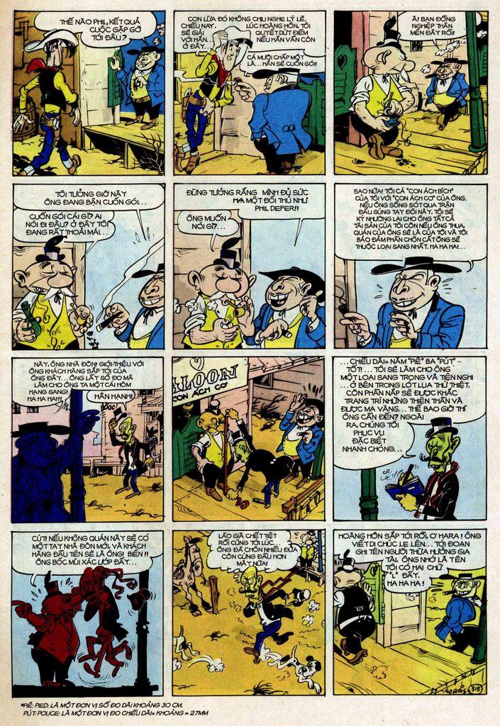 Lucky Luke tập 25 - nhện chân dài trang 13