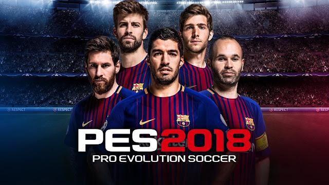 تحميل لعبة PES 2018 للاندرويد اصلية | كاملة