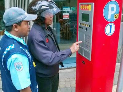 Parkir Elektronik Di Ambon Mulai 1 Oktober