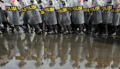 Ribuan Polisi Diturunkan Amankan Demo Ahok di Balai Kota