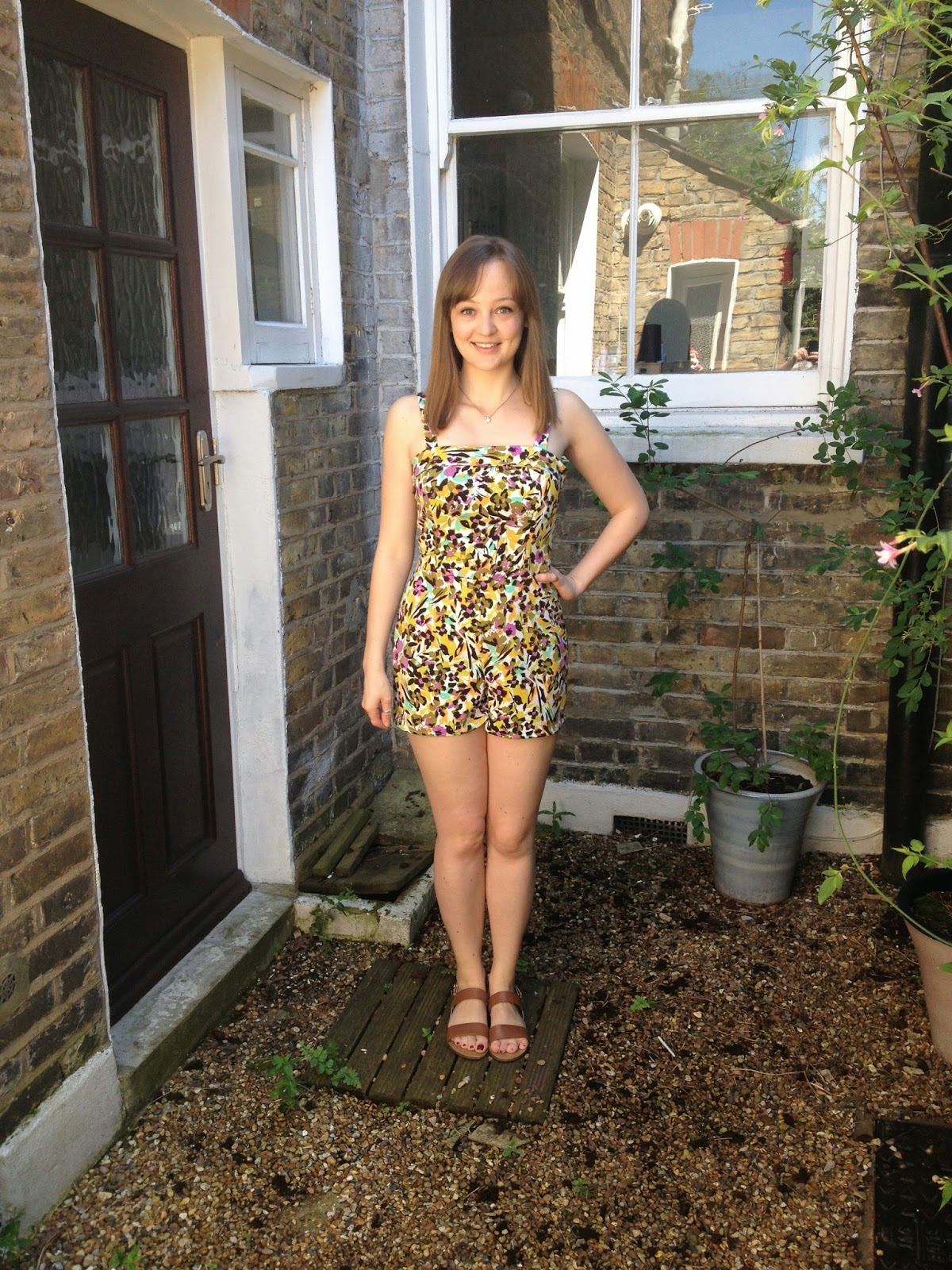 Diary of a Chainstitcher: By Hand London Holly Jumpsuit/Playsuit in John Kaldor French Crepe