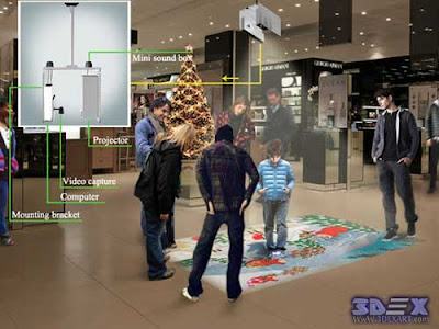 Interactive Floor Projector installation, How to install interactive floor
