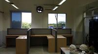 Produksi Meja Kubikel Meja kantor partisi Bongkar Pasang