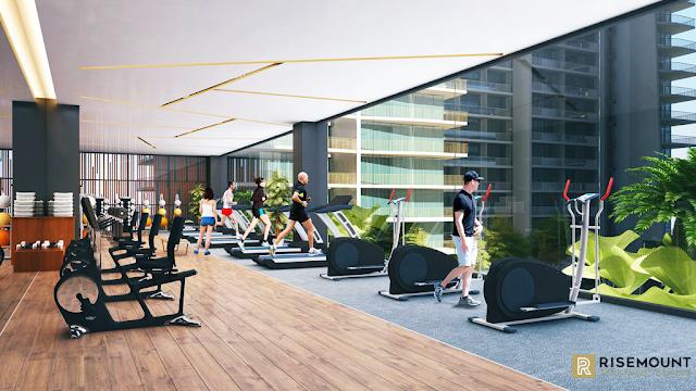 phòng tạo gym dự án Movenpick