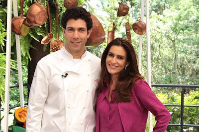 Chef Rodrigo e Ticiana (Crédito: Gabriel Gabe)