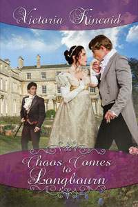 Book cover: Chaos Comes to Longbourn by Victoria Kincaid