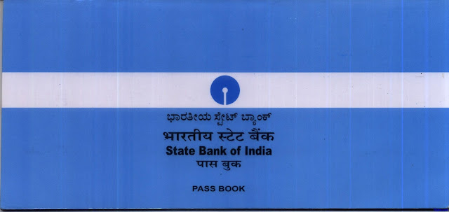 Collect the new bank passbook from the bank