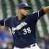 #MLB: Los Cerveceros activaron al derecho Quisqueyano Wily Peralta