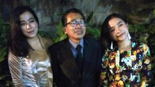 Hadiri Resepsi Kahiyang Ayu, Jarwo Kwat Didampingi Dua Gadis Cantik