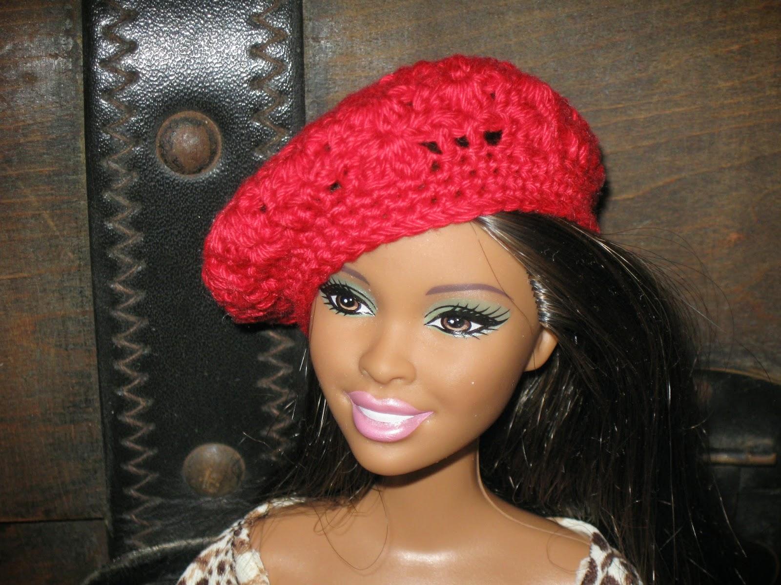 Haven Cottage Crafts: Crochet Beret for Barbie