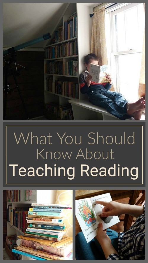 What You Should Know About Teaching Reading