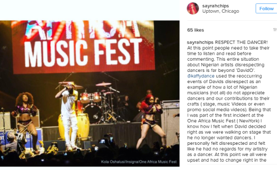Why Kaffy Called Out Davido For Not Respecting Dancers.