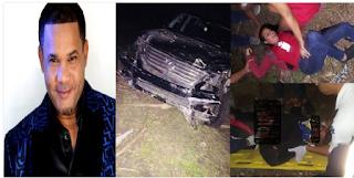 """Hector Acosta """"El Torito"""" sufre aparatoso accidente, imágenes desde el lugar de los hechos..."""