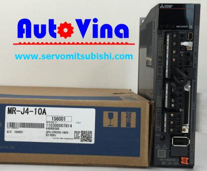 Bộ Drive Servo Mitsubishi MR-J4-10A công suất 100W