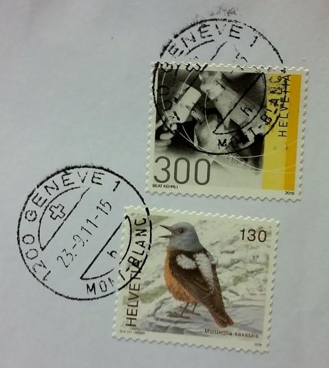 francobollo artigianato tradizionale svizzero