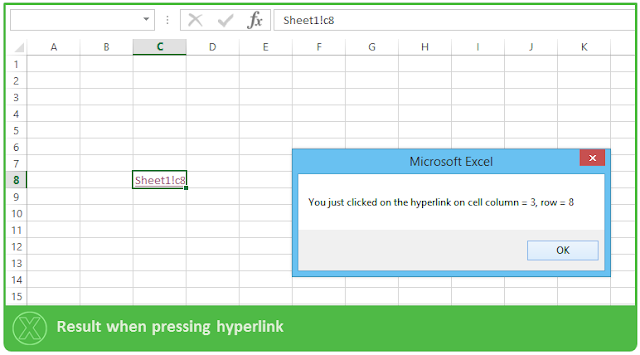 how to close a hyper link in excel