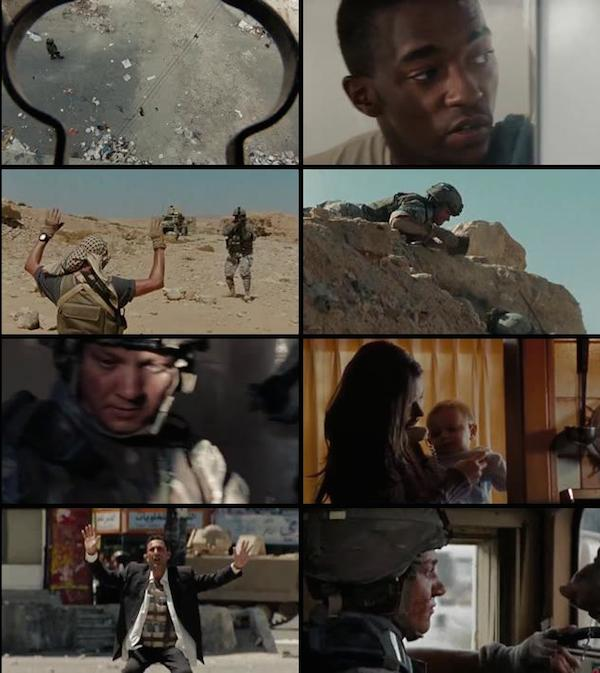 The Hurt Locker 2008 Dual Audio Hindi BRRip 480p