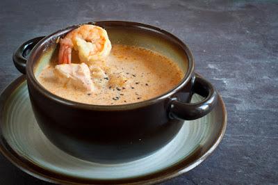 Sopa de pescado, uno de los platos principales de la cocina Islandesa
