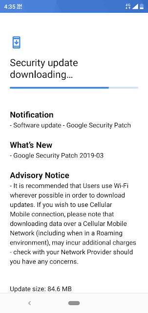 Nokia 5.1 Plus receiving March 2019 Android Security Update