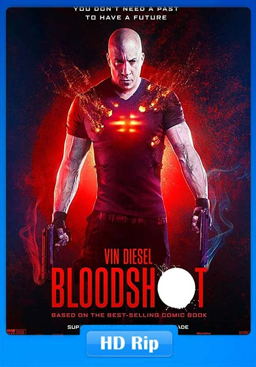 Bloodshot 2020 720p Dual Audio Hindi WEBRip ESub x264 | 480p 300MB | 100MB HEVC